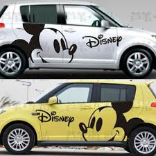 Disney Mickey Mouse Car Body Stickers Car Decals Mickey Mouse Car Disney Car Decals Disney Cars
