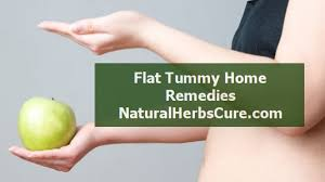 home remes to lose reduce belly fat
