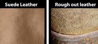what is rough out leather authorized