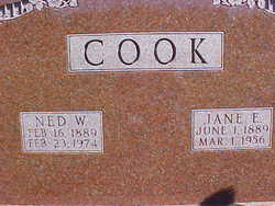 Ned Waterman Cook (1889-1974) - Find A Grave Memorial