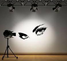 Pretty Eyes Wall Art Sticker Decal Art Wall Decals Stickers Ebay