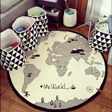 Hiltow World Map Rug Kids Rug Kids Rugs World Map Rug Kids Area Rugs