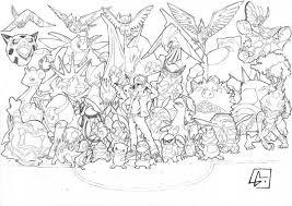 All Legendary Pokemon Coloring Pages Met Afbeeldingen