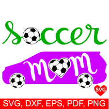 Soccer Mom Car Svg File For Cricut And Silhouette To Make Soccer Mom Shirts And Gifts Mom Car Soccer Mom Soccer