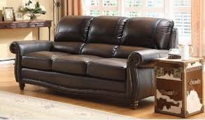 leather sofa brown leather sofa bed