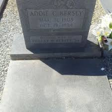 Addie Carter Kersey (1908-1934) - Find A Grave Memorial