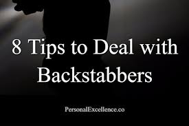 backstabber guide tips to deal backstabbers personal