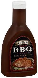 heinz regular b b q sauce 17 8 oz