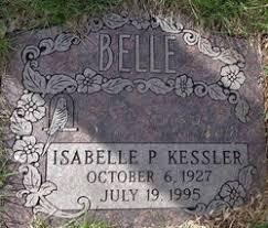 Isabelle Priscilla Jordan Kessler (1927-1995) - Find A Grave Memorial