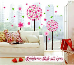 Rainbow Wall Stickers Wall Decor Removable Decal Sticker Big Cherry Blossom Trees Taylor F Manginohilz
