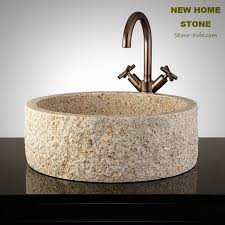 bathroom sinks natural beige granite