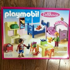 New In Box Playmobil 5306 Dollhouse Children S Bedroom Wonderful Set For Sale Online