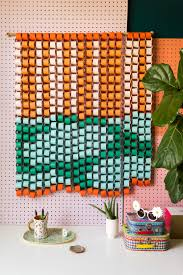 two toned paper chain wall hanging with