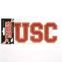 Shop For Usc Trojans Stickers Magnets Decals