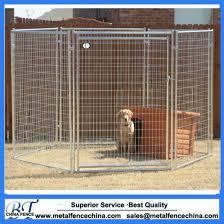 China Welded Wire Modular Pet Enclosure Kennel Panel With Gates Panel China Iron Cages And Metal Pet Cage Price