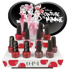 OPI's Couture de Minnie Collection Channels Minnie Mouse - The ...