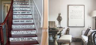 gorgeous ways to display book quotes throughout your home