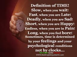 best english quotes sayings definition of time