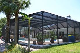 2020 Pool Enclosure Cost Screened In Pool Prices Pool Screen Enclosure Cost