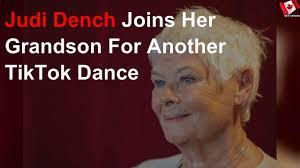 Judi Dench Joins Her Grandson For ...