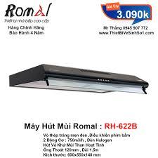 Máy Hút Mùi Romal RH-622B - Tổng Kho Bếp Nhập Khẩu Hà Nội
