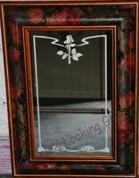etched or custom framed