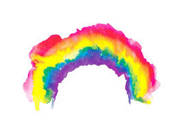 Rainbow Watercolour Art Print — Drawn Together Art Collective - Art ...