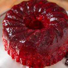 cranberry jello salad perfect for side
