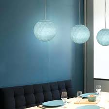 light blue lamp shades patio living