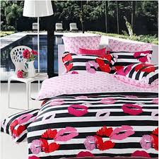hot pink red black and white stripe and
