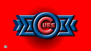 chicago cubs 3d logo baseball