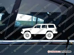 Vinyl Decal For Jeep Jeep Xj Cherokee