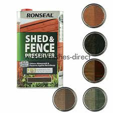 ronseal shed and fence preserver 2 in 1