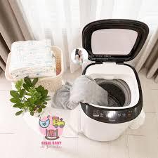 Máy giặt Mini DOUX- Giặt vắt tự động và làm khô 70%