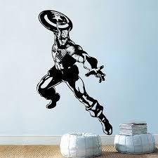 Captain American Vinyl Wall Art Decal