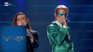 Sanremo 2020 - Achille Lauro con Annalisa -
