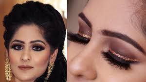 indian wedding eye makeup look