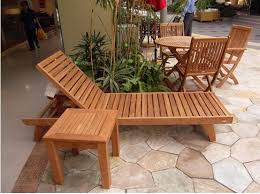 outdoor furniture timber installation