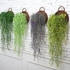artificial fake hanging flower vine