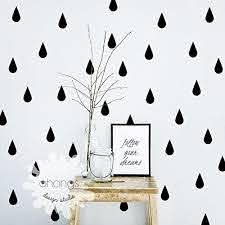 Amazon Com Raindrop Wall Decal 60 Raindrop Wall Sticker Gold Wall Decal Pattern Wall Decal Nursery Decal Office Decal Kitchen Decal Gift Handmade