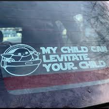Star Wars Accessories Baby Yoda Car Decal Poshmark