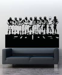 Vinyl Wall Decal Sticker Football Team 5085 Stickerbrand