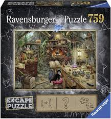 Amazon Com Ravensburger Escape Puzzle The Witches Kitchen 759 Piece Jigsaw Puzzle For Kids And Adults Ages 12 And Up An Escape Room Experience In Puzzle Form Toys Games