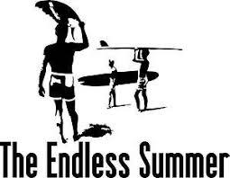 The Endless Summer Vinyl Decal Sticker