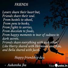 friends l quotes writings by aakansha jha yourquote