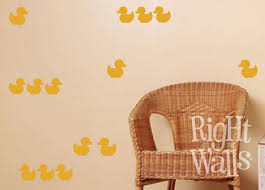 Rubber Ducky Bathroom Baby Wall Decals Vinyl Art Stickers