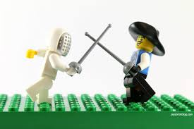 Fencer Musketeer Series 13 Foil Lego Minifigures Series 4 Weapon Only