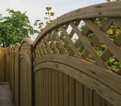 Curved Framed Trellis Arch Top Trellis Jacksons Fencing
