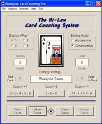 blackjack card counting pro free