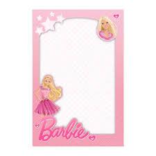 Convite Barbie Gratis Convite Barbie Aniversario Da Barbie